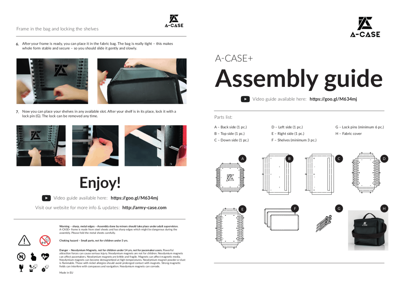 assembly instruction 1